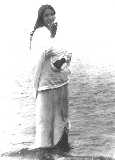 """Every Guru Purnima, Anandamayi Ma sent a message to those who could not be with Her. In 1973, Ma sent the following message: """"He Bhagavan, kripa kare sparsh daa. He Atma Guru kripa koro!"""" This means: """"O Lord, let me feel the touch of your grace; O Guru, the one Self, pour out your grace!"""""""