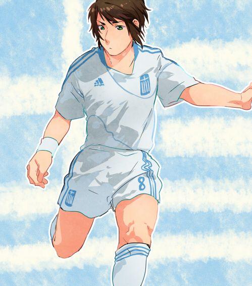 Footballer: Greece