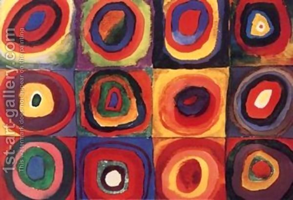 Squares with Concentric Rings by Wassily Kandinsky