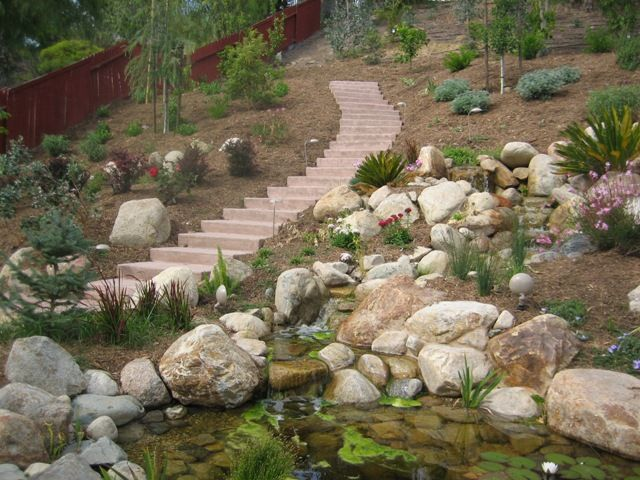 17 best images about landscaping ideas for hillsides on - Ideas for hillside landscape ...