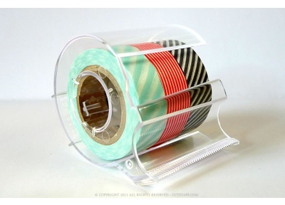 Multi Roll Washi Tape Dispenser - Clear - Tape Dispensers: Crafty Stuff, Multi Rol Washi, Multi Rolls, Tape Dispenser, Rolls Washi, Crafts Room, Clear Multi Rol, Washi Tape, Tape Dispeners