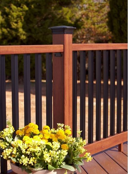 New Natural Railing From Fiberon Natural Railing Is A