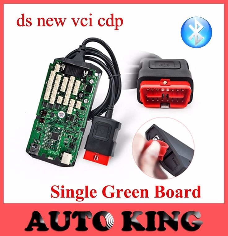 69.00$  Watch here - http://ali4t6.worldwells.pw/go.php?t=32785343732 - New VCI Green Single Board CDP with bluetooth nec relay Diagnostic Scanner Tool for cars trucks TCS CDP Pro 2015 R1 /2014.R2