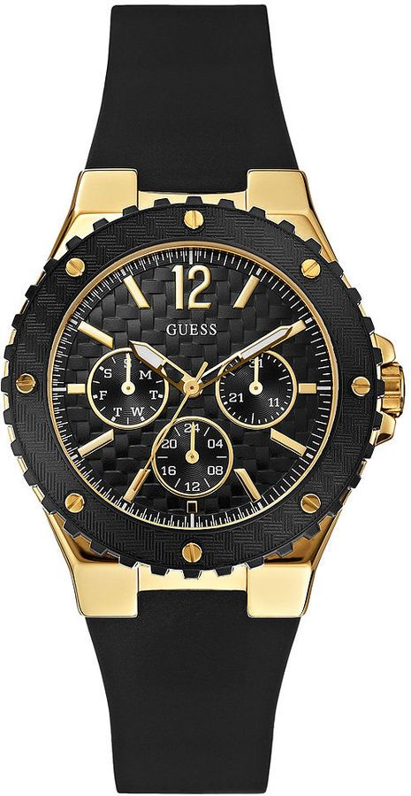 b75e68a42be21  Guess  Watch , GUESS Women s U0149L4 Feminine Sport Carbon-Fiber Finish  Watch... 88.41   Watches I Love   Pinterest   Sport watches, Watches and  Fashion ...