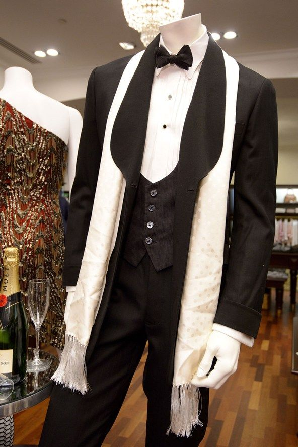 The Great Gatsby takeover at Brooks Brothers' Regent's Street store
