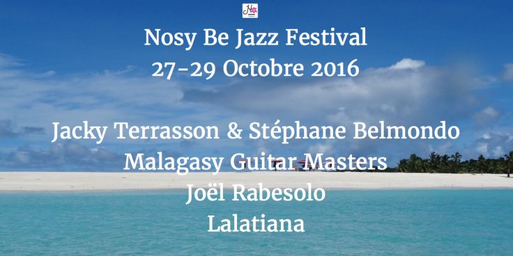 RT NosyBe Jazz Festival: Beyond the #jazz, enjoy the #sea & #wildlifetour #chocolatetour #croisiere at .NosyBe Jazz Festival http://nosybe-jazz-festival.com/en #JazzInHeaven