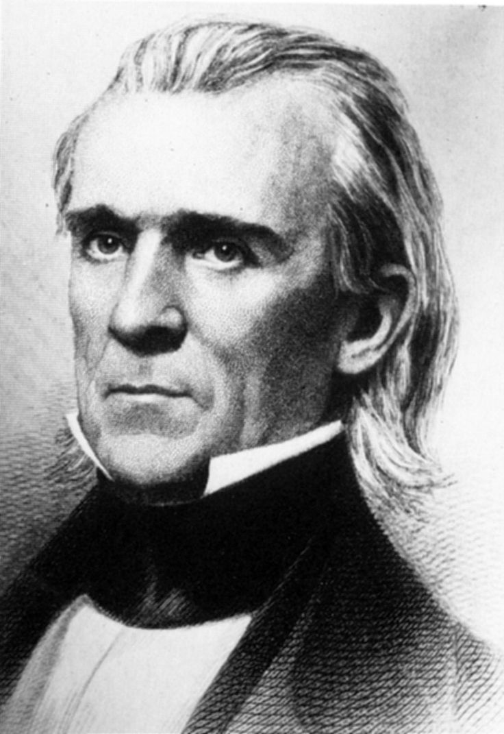 """11th US President-  James K. Polk  Born: November 2, 1795, near Pineville, North Carolina  Died: June 15, 1849  Party: Democratic  Age when inaugurated: 49  Term: 1845–1849. Polk was the first """"dark horse""""or little-known nominee to become President. He presided over the Mexican War, which added Texas, California, and other territory to the U.S.  Famous Fact: Polk is the only President to have served as Speaker of the House."""