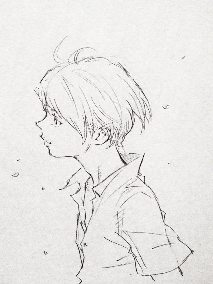 風と少年。