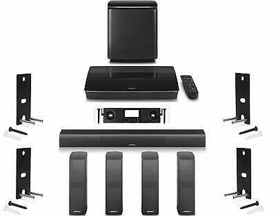Ad Ebay Link Bose Lifestyle 650 Home Theater System With Wall Mounts Bose Lifestyle Entertainment System Home Theater System