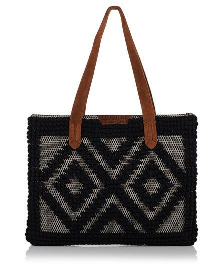 Superdry Masai Tote Bag Black $59.50