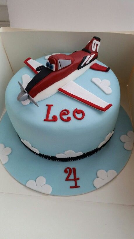 Planes 'Fire & Rescue' birthday cake