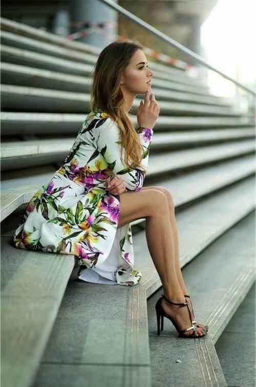 modèle intéressant de robe femme