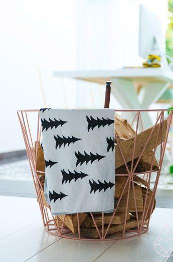 Via Zilverblauw | Ferm Living Basket | Fine Little Day Blanket
