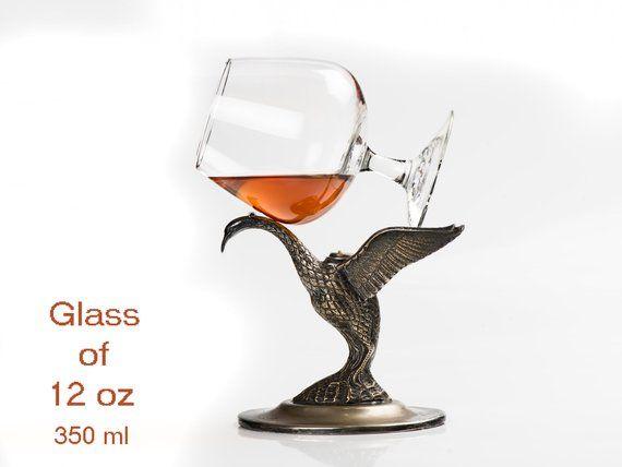Cognac /& Brandy Warmer with Glass