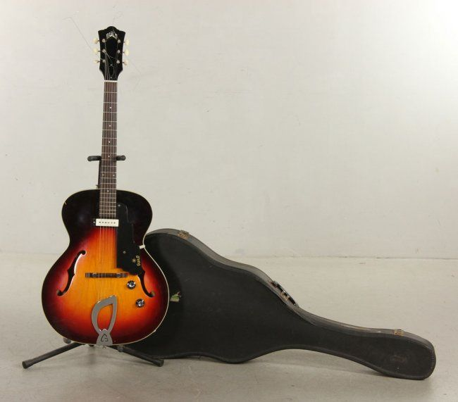 1960's Guild T 50 Hollow Body Electric Guitar : Lot 1338