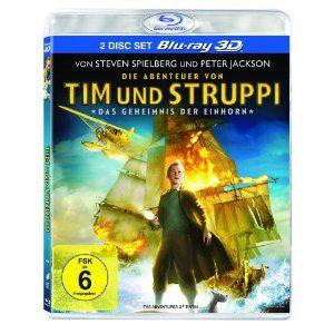 Die Abenteuer von Tim & Struppi – Das Geheimnis der Einhorn (3D-Version, 2 Disc-Set) [3D Blu-ray] Best-Preis « 3D Blu-Ray Filme