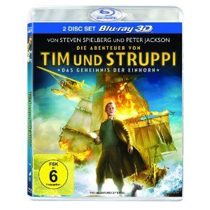 The Adventures of Tintin - The Secret of the Unicorn (3-D version, 2-Disc Set) [Blu-ray 3D] Best Price «3D Blu-Ray Movies