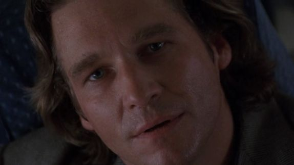 That moment in Fearless (1993) when Max lets go of fear and makes peace with death.  Jeff Bridges sells it.