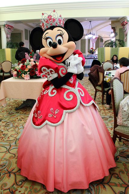 Princess Minnie .. I don't know why I feel happy looking at this photo of Princess Minnie but I do .. so there! :)