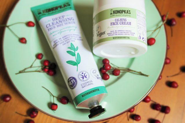 Make-Life-Green: Kosmetyczni ulubieńcy - krem łagodzący i głęboko oczyszczający peeling do twarzy