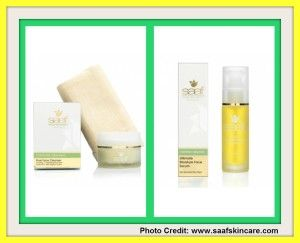 Saaf Pure Face Cleanser with Organic Face Cloth & Ultimate Moisture Face Serum - The Oliver's Madhouse - http://theoliversmadhouse.co.uk/health/saaf-pure-face-cleanser-with-organic-face-cloth-ultimate-moisture-face-serum/
