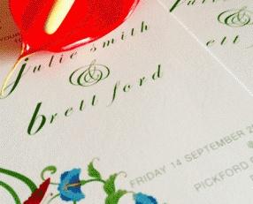 #Wedding_Invitation @Aaron Giles  Julie & Brett