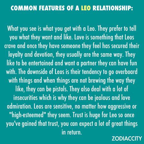 Leo Relationships