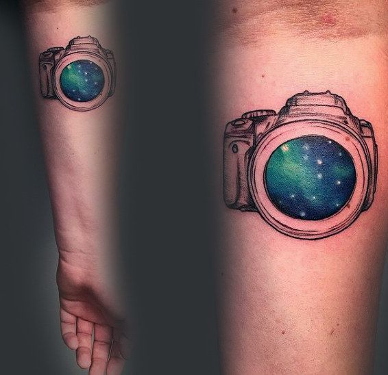 80 Camera Tattoo Designs For Men