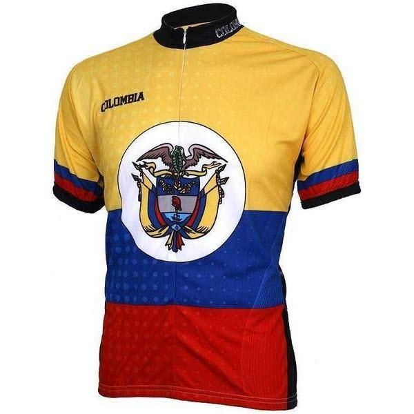 Columbia Coat of Arms Pro Cycling Jersey