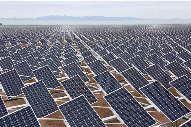 Thibaultfrisson The Smartest Agrivoltaic Application Combating Desertification World S Largest Agrivoltaic System Solar Solar Panels Worlds Largest