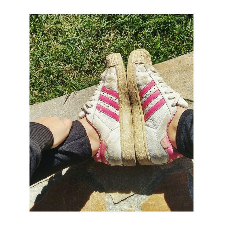 Quando o bagulho é original 😄 #adidas #superstar ❤