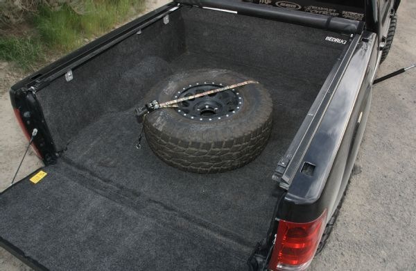 2013 Gmc Sierra 1500  Toyo Open Country 35 Inch Tires Method Nv 17 Inch Wheels Bedrug Carpeting Kit Photo 121004057