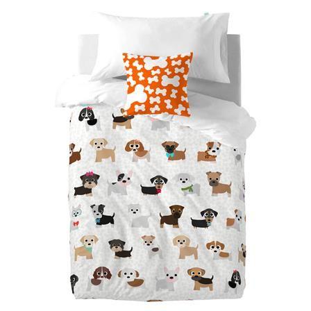 Mr. Fox Dogs Single Duvet Cover Set