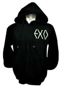 EXO BAND ZIP HOODIE. Give me Kai's hoodie. Omg.