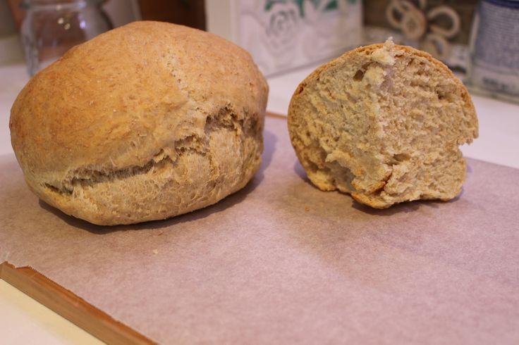 Pane vegano fatto in casa. Buonissimo e veloce. GoVegan!