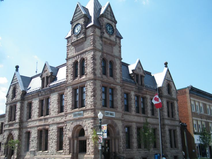 Slate roof on Goderich City Hall
