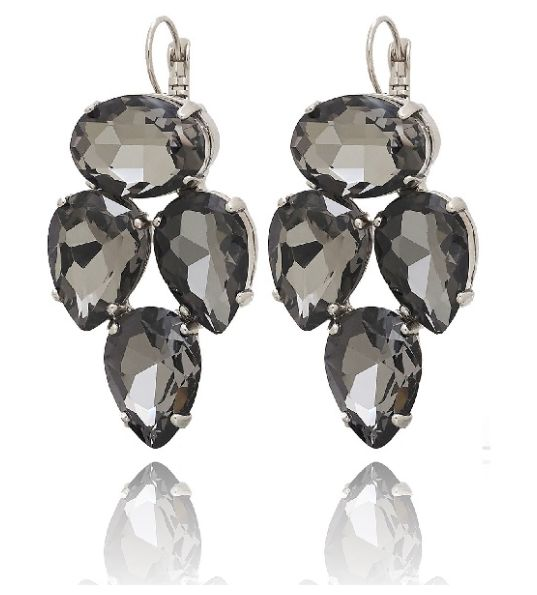 Voila Grey Earrings available at www.stellanemiro.com