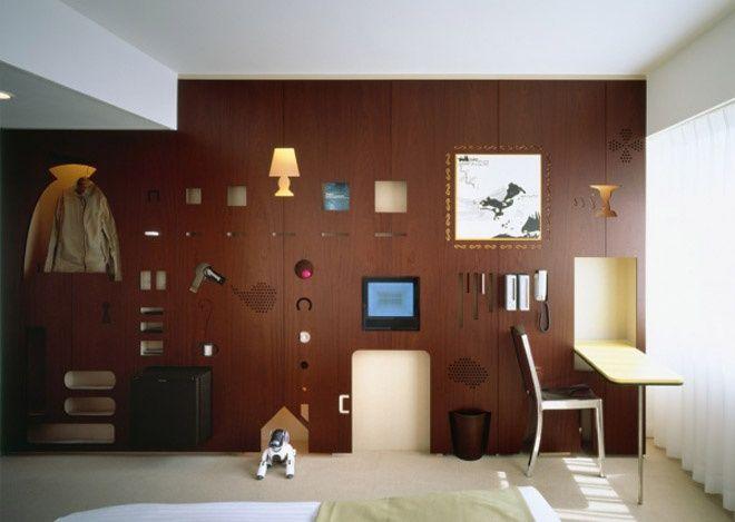 Creative Hotel Room Interior by Torafu…