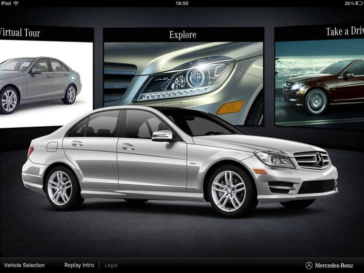 Mercedes-Benz iPad App - Clickable Demo