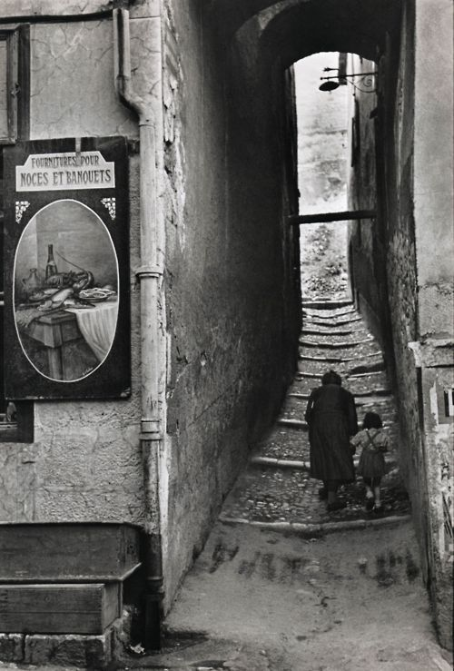 Henri Cartier-Bresson  Briançon, France, 1952  From Henri Cartier-Bresson Photographe