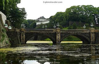 The #Tokyo Imperial Palace (#皇居, #Kōkyo,) the main residence of the Emperor and Empress of Japan | von Pilgrim Traveler
