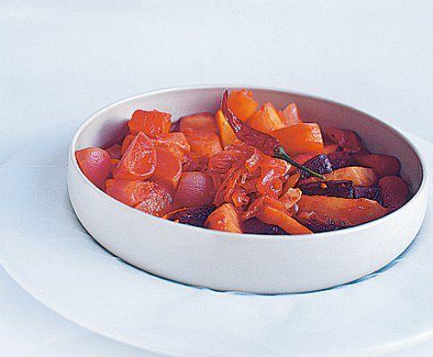 Gemüse-Tajine - Rezept - Saisonküche