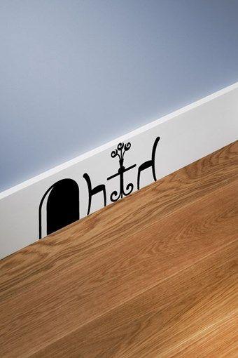 Vente Stickers / 15821 / Design et city / Sticker trou de souris et table Noir