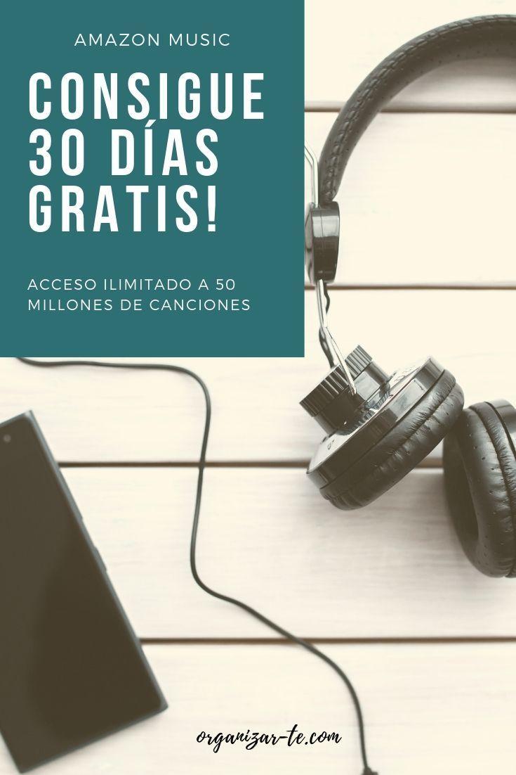 Disfruta de acceso ilimitado a tus canciones favoritas, aprovecha 30 días grati…