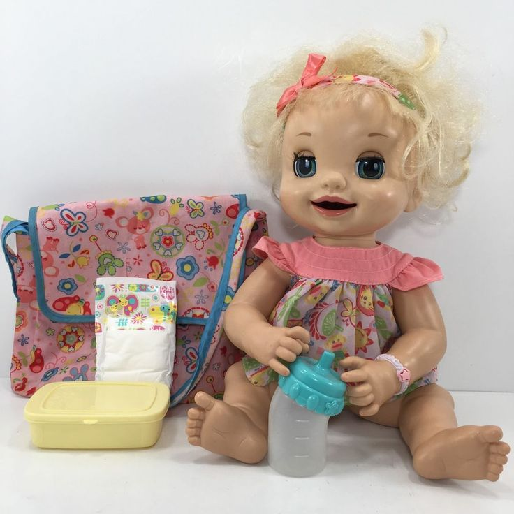Details About Baby Alive 2007 Doll Learns To Potty Soft