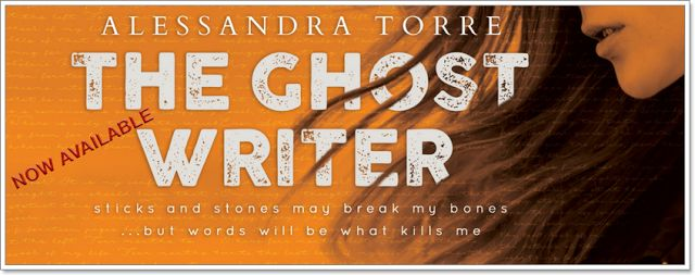 Avephoenix Naughty Readings: The Ghostwriter by Alessandra Torre: RELEASE BLITZ... ✨ IS LIVE ✨  #TheGhostwriter #AlessandraTorre #AvailableNow #PsychologicalSuspense #PhenomenalRead #Emotional #MagicalStorytelling