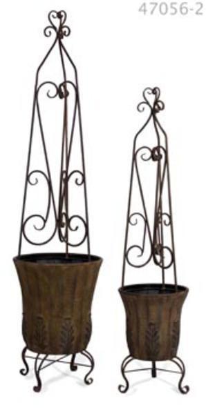 Best 25+ metal topiary planters images on Pinterest | Topiaries ...