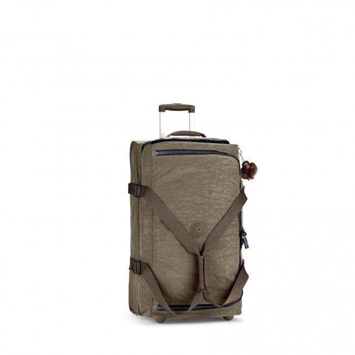 Kipling Basic Wheeled Luggage Teagan M Trolley-Reisetasche Soft Khaki C