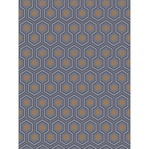Buy Cole & Son Hicks Hexagon Wallpaper Online at johnlewis.com £70 -to expensive, but would look fabulous!