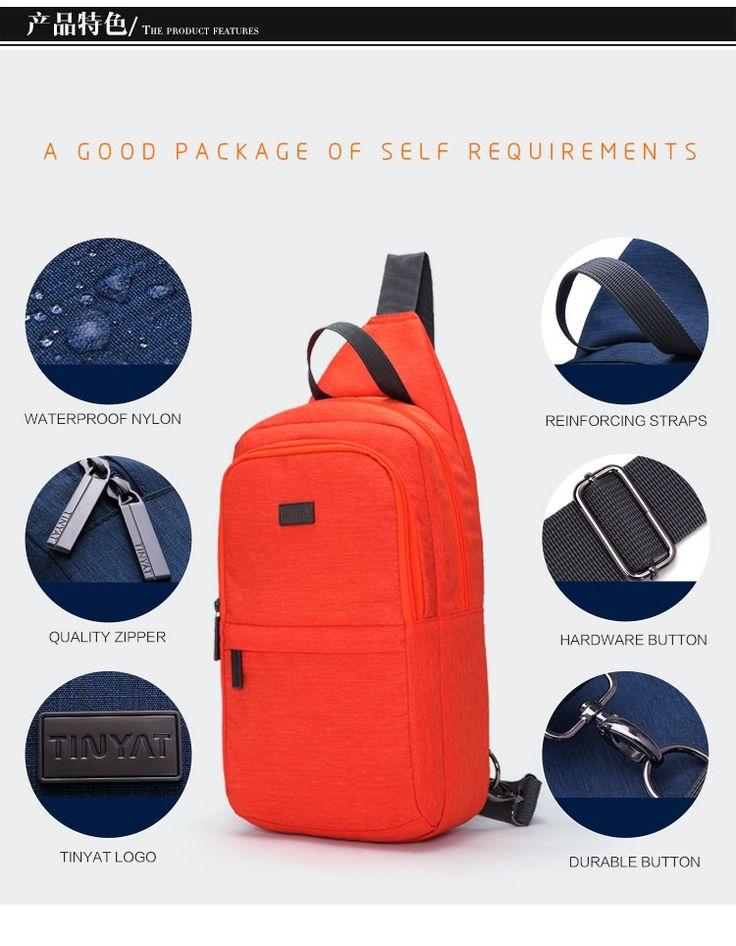 TINYAT Летние Каникулы Путешествия тур поездка jounery мужчины грудь сумка женщины грудь пакет Талии пакет Сумка Серый Синий Красный T607 купить на AliExpress